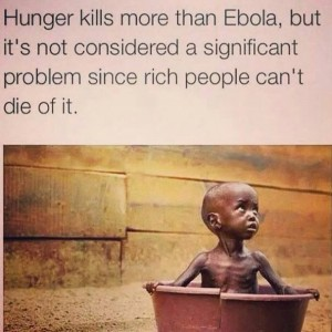 Hunger - Ebola